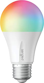 Sengled Smart LED Multicolor Bulb, Hub Required, RGBW Color & Tunable White 2000-6500K, A19 60W Equivalent, Works with Alexa, Google Assistant & SmartThings, 1 Pack