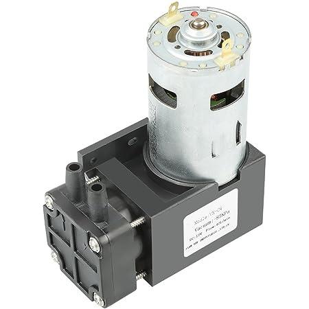 Akozon Oilless Vakuumpumpe Dc24v Mini Kleine ölfreie Vakuumpumpe 85kpa Durchfluss 40l Min Für Gas Luft Gewerbe Industrie Wissenschaft