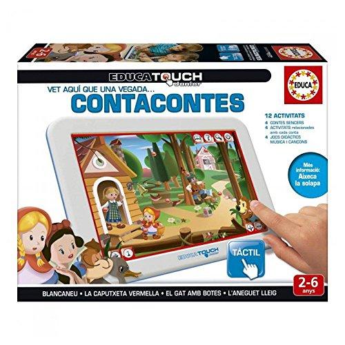 Educa Borrás- Educa Touch Junior Contacontes, en català (1