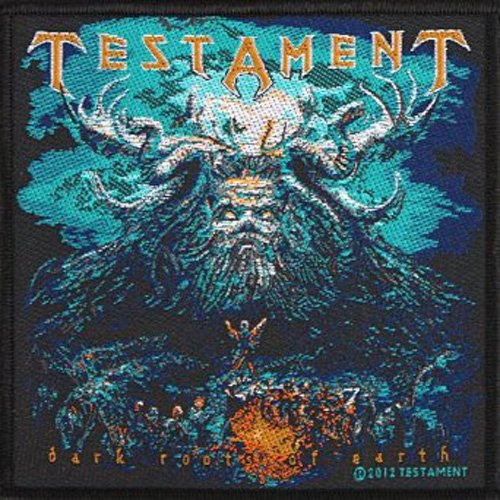 Testament - Aufnäher Dark root of the Earth (in 100% Cotton)