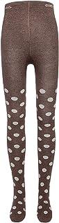 Ewers Kinderstrumpfhose für Mädchen Glitzer-Punkte, MADE IN EUROPE, Strumpfhose Mädchenstrumpfhose Baumwolle