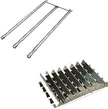 Htanch SG538(13-Pack) SG506 for Weber Genesis I - IV and Weber Genesis 1000, Genesis 1300, Genesis 2000, Genesis 2300, Genesis 3300, Genesis 3500,5000 Platinum I & II Flavorizer Bars and Burner