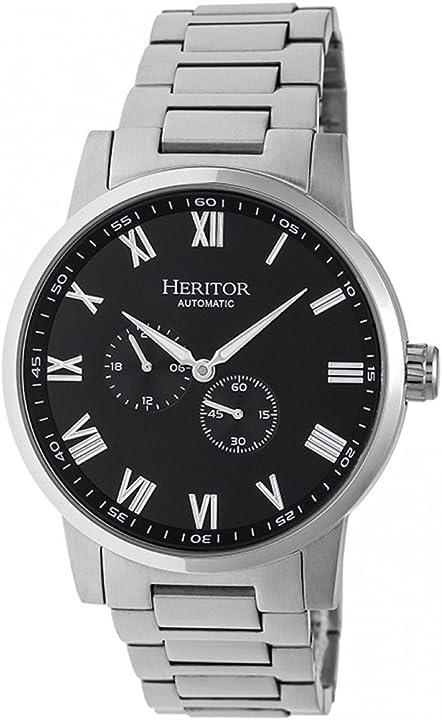 orologio heritor  automatico romulus bracciale herhr6402