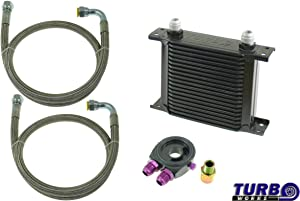 V-MAXZONE M-5642 SPORT OIL COOLER KIT 16-ROWS 140x125x50 AN10