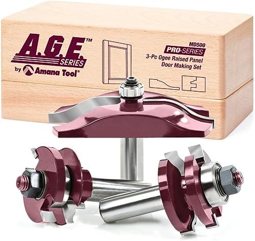 new arrival A.G.E. Series discount - 3 Pcs Ogee Door Making outlet online sale Set (MD500) online sale