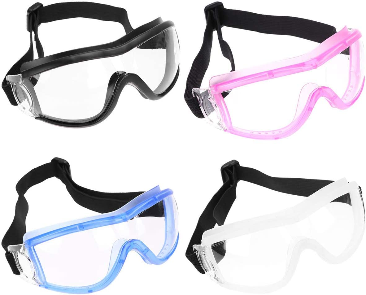 EXCEART 4pcs Miami Mall Protective Goggles Safety Pr Face Cover Recommendation Eye