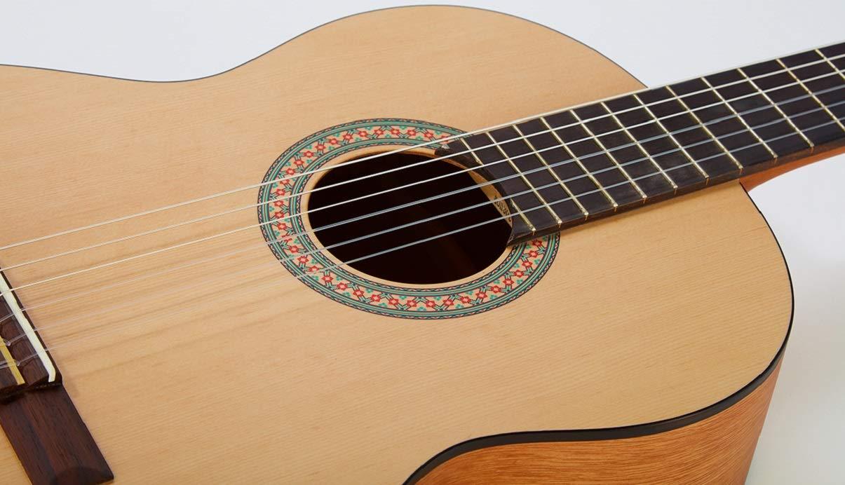 Yamaha C40MII Guitarra Clásica Guitarra 4/4 de madera, 65 cm 25 9 ...