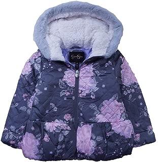 Girls' Quilted Peplum Jacket