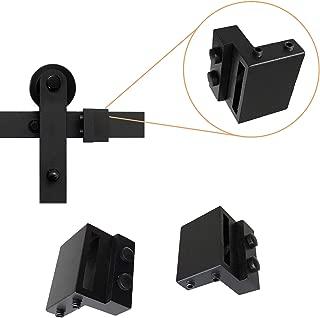 2PCS Barn Door Stopper for Sliding Barn Door Flat Track, Perfect Replacement Sliding Barn Door Hardware Accessories