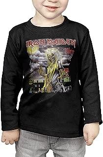 Kids Iron Maiden Long Sleeve T-Shirts Black