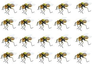 20 Stücke Realistische Biene Insekt Topf Kleiderbügel Kühlschrankmagnet