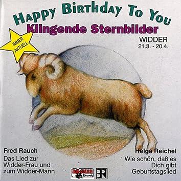 Klingende Sternbilder - Widder 21.03.-20.04.