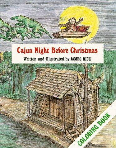 Cajun Night Before Christmas® Coloring B (The Night Before Christmas)