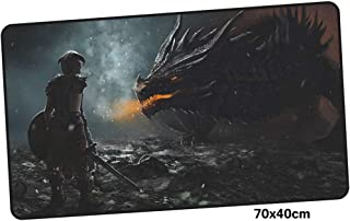 XIAOXIANNV Skyrim Mousepad Gamer 700X400X3Mm Gaming Mouse Pad Large Domineering Notebook Pc Accessories Laptop Padmouse Ergonomic Mat