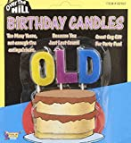 OLD Over The Hill Birthday Candles