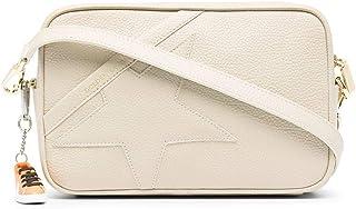 Golden Goose Luxury Fashion Damen GWA00101A00010110189 Beige Leder Schultertasche   Ss21