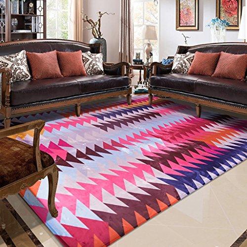 Creative Light- Tapis Modernes Canapé Table Basse Salon Carpet Chambre Rectangle de Chevet Home Mats (Taille : 100cm*150cm)