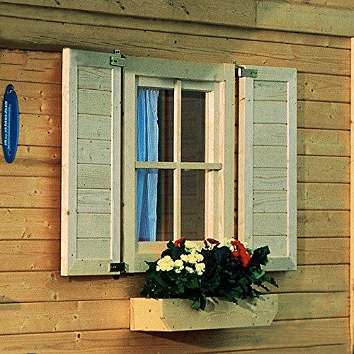 Karibu Fensterläden für Einzelfenster