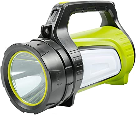 YYBT Super Bright LED Searchlight USB wiederaufladbare Outdoor-Spotlight Taschenlicht Taschenlicht Tragbare Multifunktionsgerät Camping FLASHL Lamp Langstreckenlampe USB Mobile Power,l B07MGGXJTY     | Modisch