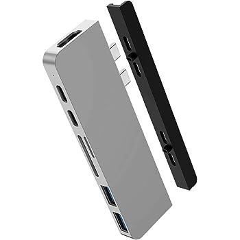 HyperDrive USB-Cハブ 7in2 DUO USB-C Hub for MacBook Pro ハイパードライブ【日本正規代理店品】 HP15580