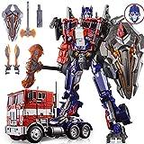 WWYYZ Película Líder Clase Alloy Diecast Optimus Prime, Deformación Juguete King Kong M01 Robot De Coche KO