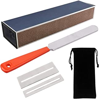 $21 » Guitar Fingerboard Luthier Tool Set Including Guitar Fret Crowning Luthier File, Fret Leveling Beam Sanding Leveler Beam and Fingerboard Guard Protectors for Guitar Bass with Portable Storage Bag
