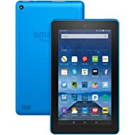 "Fire Tablet with Alexa, 7"" Display, 8 GB, Blue - with Special Offers (Previous Generation - 5th)"