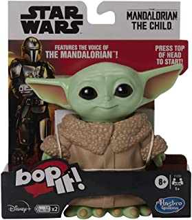 Bop It! Star Wars: The Mandalorian The Child Toy - The Mandalorian Voice and Baby Yoda Sounds - Electronic Games and Toys ...