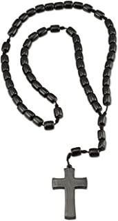 Best cross necklace rosary Reviews