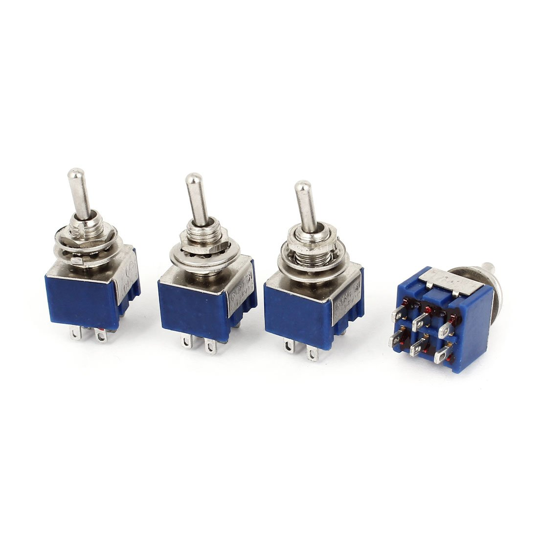 uxcell a14103100ux0366 free Toggle Switch AC 125V 6 DPST sale Posi 3 Amp