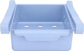 Organisateurs de réfrigérateur, type de tiroir solide et bacs de rangement pour réfrigérateur, conception creuse en forme ...