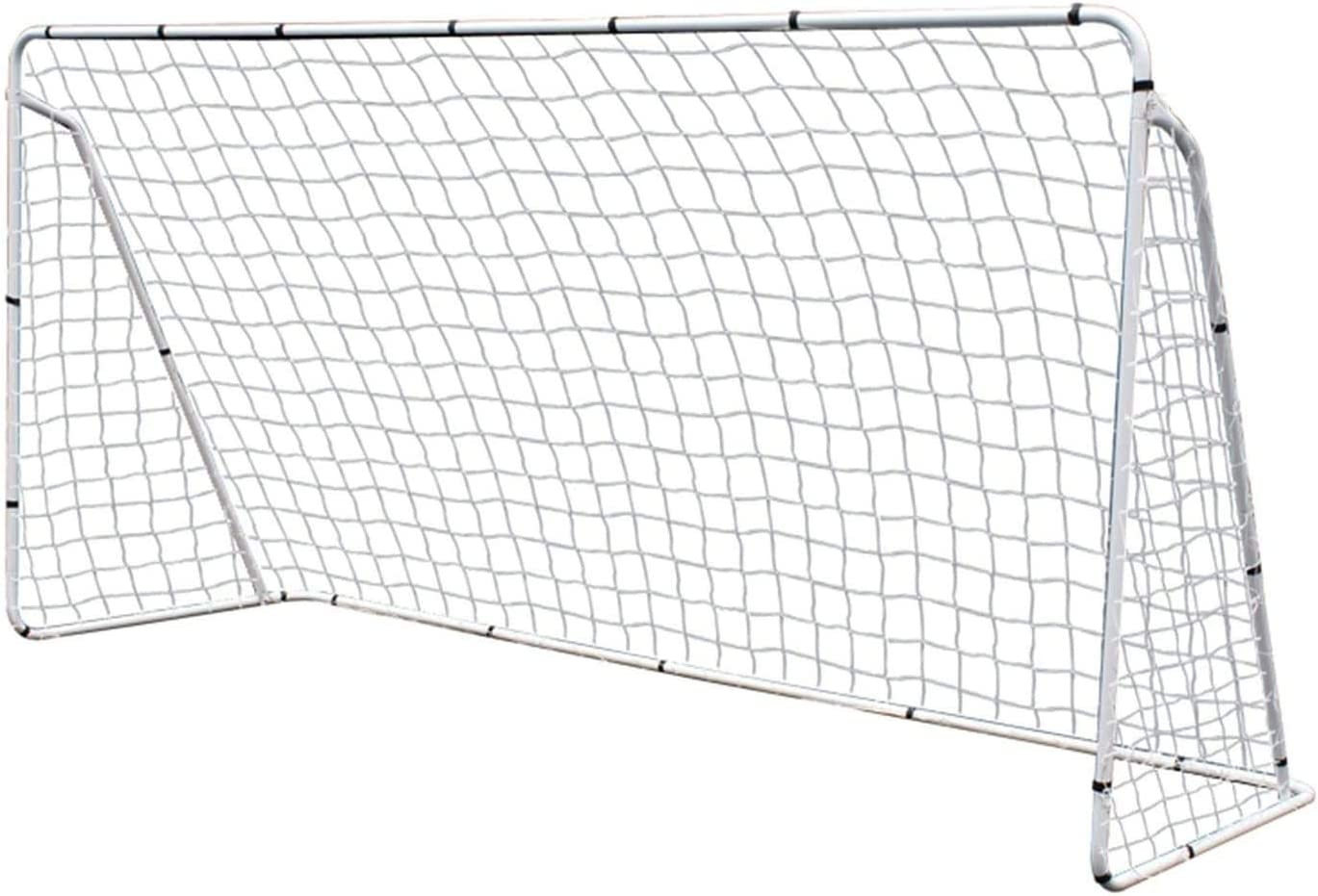 excellence Max 71% OFF HomGarden 12' x 6' Portable Soccer Goal Target Net Post Football