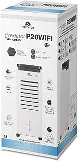 GLAZIAR Predator P20 - Climatizador EVAPORATIVO, Air Cooler, con WiFi Control Via App y Manual, Anti-Mosquitos Integrado, Genera un Efecto Brisa, Regula Temperatura 4-5ºC, Uso con Ventanas Abiertas
