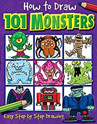 How to Draw 101 Monsters: Easy Step-by-step Drawing