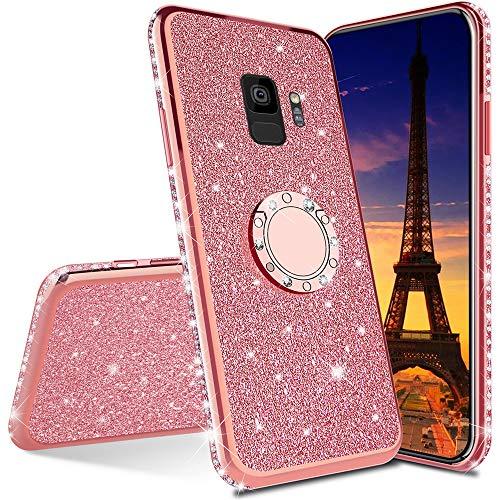 Leecoco Coque pour Samsung Galaxy S9 Plus avec paillettes et ...