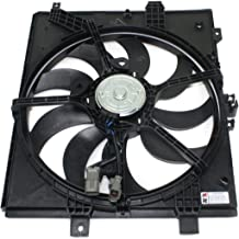 Dual Radiator and Condenser Fan Assembly - Cooling Direct For/Fit NI3115143 12-18 Nissan Versa Sedan/Versa Note Automatic ONLY