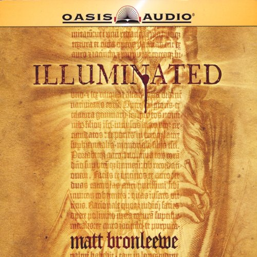 Illuminated audiobook cover art