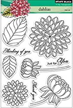Best dahlia rubber stamp Reviews