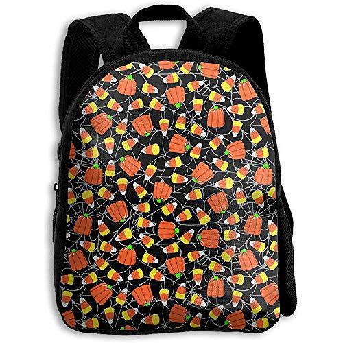 Rucksäcke,Süßigkeiten Kürbisse Süßigkeiten Mais Auf Spinnennetzen Rucksack, Schultasche Bookbag Für Erwachsene Klettern Reisen
