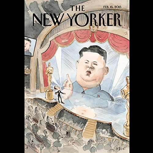 The New Yorker, February 16th 2015 (Nicholas Schmidle, Elizabeth Kolbert, Joseph Mitchell) cover art