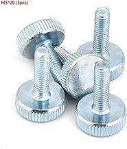 Precisiongeek Vis /à oreilles Aluminium M6 x 10mm Lot de 5