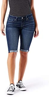 Signature by Levi Strauss & Co. Gold Label Women's Mid-Rise Skinny Shorts