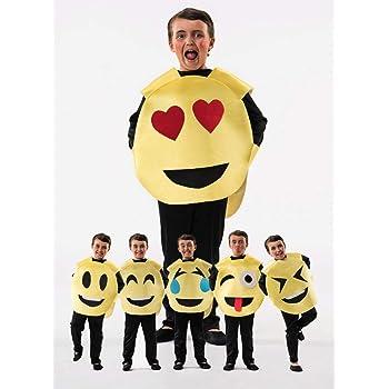 Disfraz de Emoticono para niños: Amazon.es: Juguetes y juegos