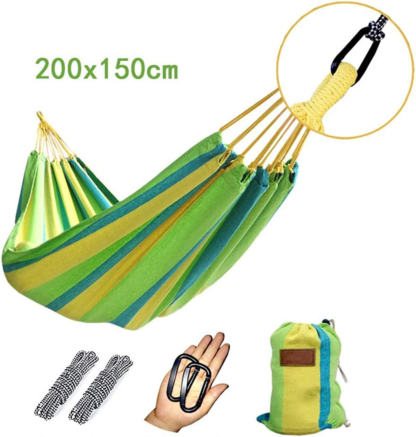 Hammock, Canvas Student Dorm Room Park Go to Bed Bedroom Household Hammock (color   12)