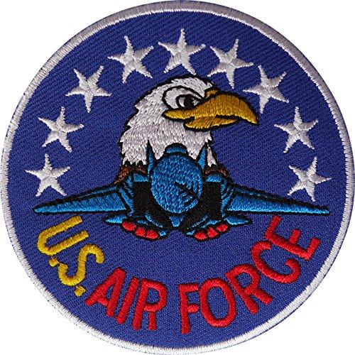 Parche bordado de la Fuerza Area de los Estados Unidos para planchar y coser