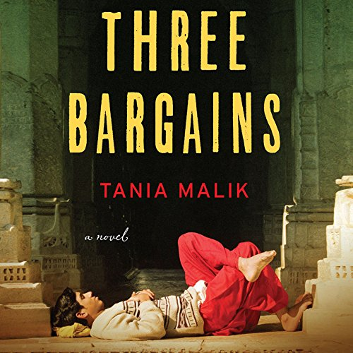 Three Bargains audiobook cover art