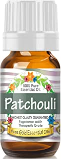 Pure Gold Patchouli Essential Oil, 100% Natural & Undiluted, 10ml
