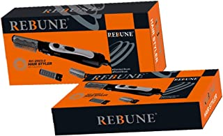 REBUNE Hair Styler RE-2013-2 Black 3 in 1 New Styling Tool 1000W