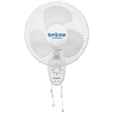 Hurricane HGC736500 Wall Mount Fan-12 Inch