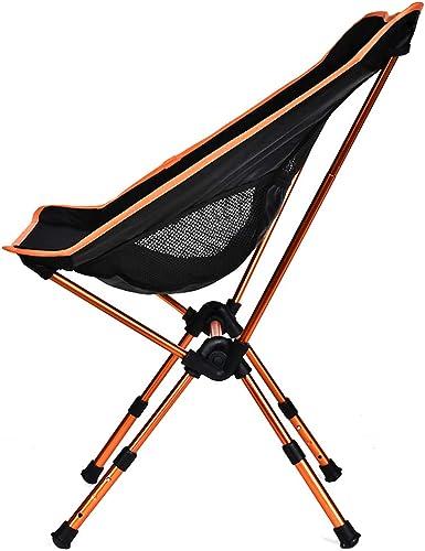 ZDYWANG Tabouret De Pêche De Chaise De Lune Réglable Pliant Portable Pliable Extended Randonnée Seat Jardin Ultralight Camping Accueil Meubles